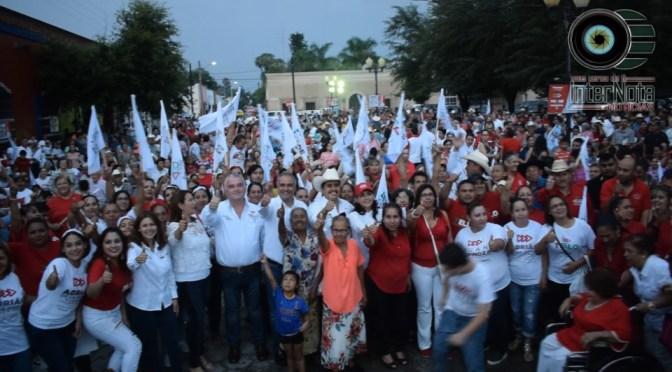 TELLO VILLAGOMEZ REALIZA EL CIERRE OFICIAL DE SU CAMPAÑA 2018 EN GENERAL TERÁN, N.L.