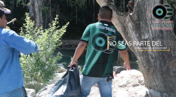 NO SEAS PARTE DEL PROBLEMA, SE LA SOLUCION!