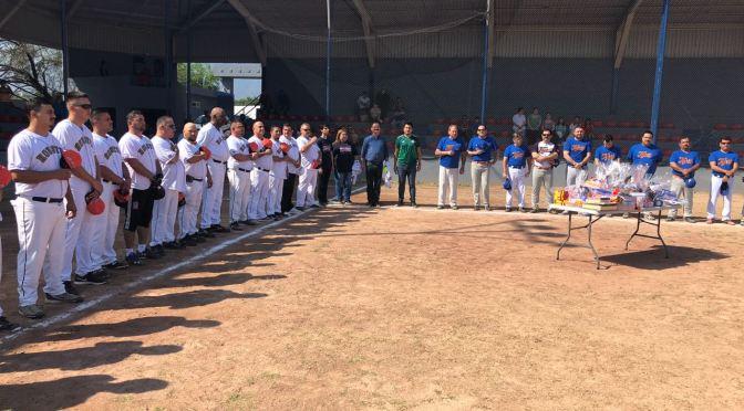 REALIZAN PARTIDO AMISTOSO DE BEISBOL ENTRE DE TIGRES DE HOUSTON VS. ALLENDE