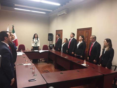 PRIMERA SESIÓN DE CABILDO DEL AYUNTAMIENTO 2018-2021 EN ALLENDE N.L.