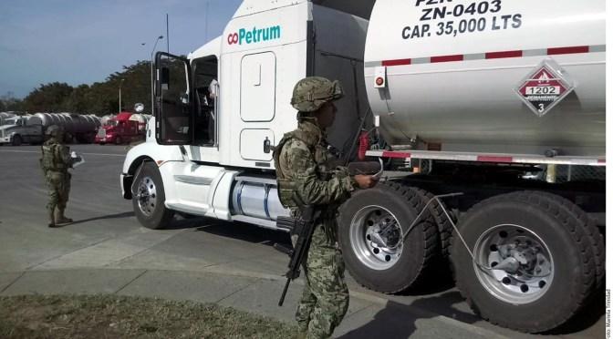 EJECITO MEXICANO CUSTODIA REFINERÍA DE PEMEX
