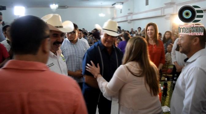 GOBERNADOR JAIME RODRÍGUEZ CALDERÓN HACE GIRA EN EL MUNICIPIO DE CADEREYTA, JIMÉNEZ N.L.
