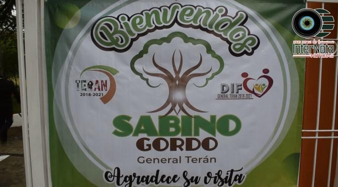 REALIZAN LA GRAN APERTURA DEL CENTRO RECREATIVO SABINO GORDO EN GENERAL TERÁN.