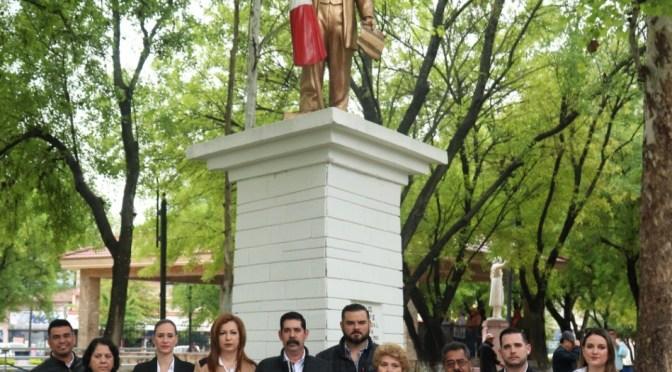 LLEVAN A CABO LA CEREMONIA DEL ANIVERSARIO DEL NATALICIO DE DON BENITO JUÁREZ EN CADEREYTA, JIMÉNEZ N.L.