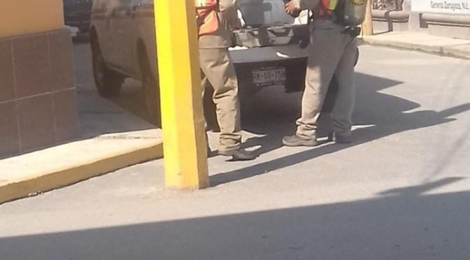 RECUPERAN CILINDRO DE GAS CLORO QUE HABÍA SIDO ROBADO.