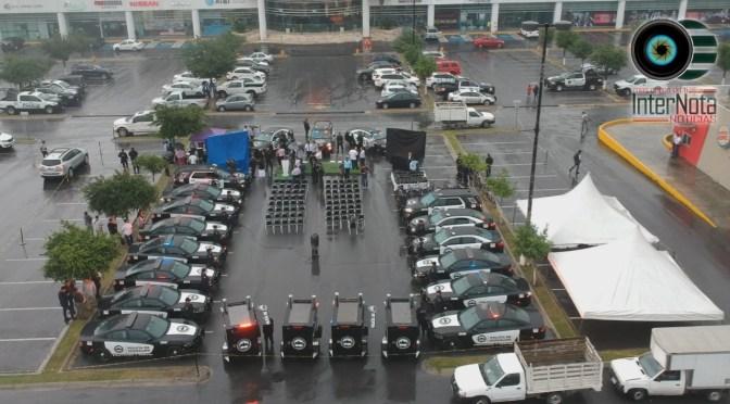 DAN PRESENTACIÓN A NUEVAS UNIDADES GUARDIÁN EN GUADALUPE, N.L.