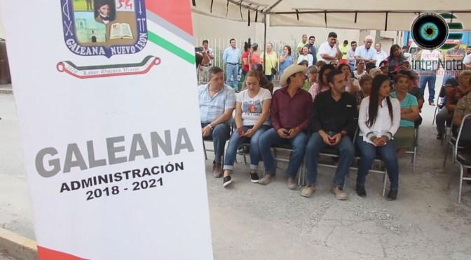 PRESIDENTE DEL CONGRESO DEL ESTADO MARCO GONZÁLEZ APLICA 25 MILLONES EN GALEANA