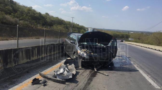 ACCIDENTE SE REGISTRA A LA ALTURA DE LOMA DE LOS MARTINEZ