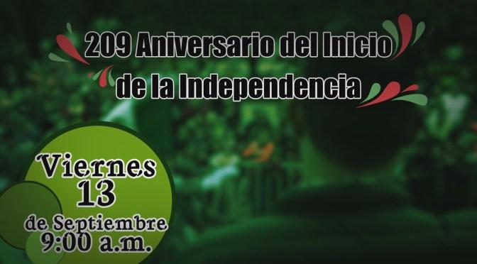 PRÓXIMO DESFILE CONMEMORATIVO AL 209 ANIVERSARIO DEL INICIO DE LA INDEPENDENCIA EN CADEREYTA, JIMÉNEZ N.L.