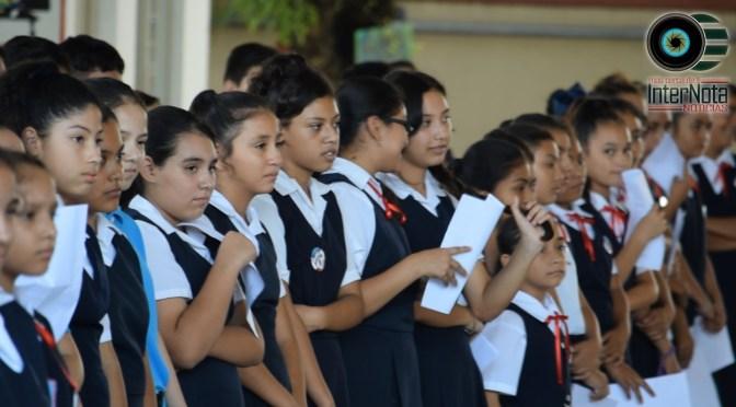 ABRAZATÓN 2019 EN ESC. SEC. PROFR. RAMÓN SALINAS ELIZONDO