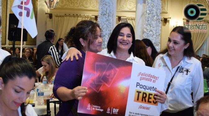 MÁS DE 800 PERSONAS ASISTEN A LA GRAN LOTERÍA SOLIDARIA EN SANTIAGO, N.L.