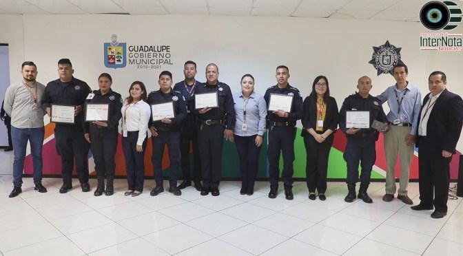 PREMIAN A POLICÍAS POR ROBOS QUE HAN IDO A LA BAJA EN EL MUNICIPIO DE GUADALUPE