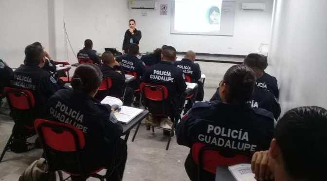 CAPACITA ONU MUJERES A POLICÍAS DE GUADALUPE