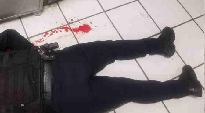 JOVEN MUJER POLICÍA SE SUICIDA DE UN DISPARO EN LA CABEZA.