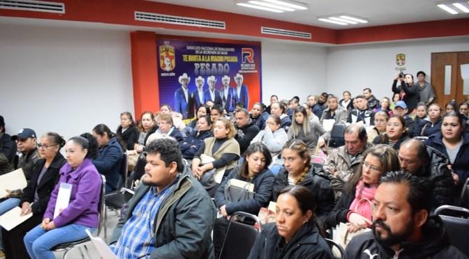 ENTREGAN A SINDICALIZADOS DE SALUD 200 PRÉSTAMOS DE 30 MIL PESOS TRAS SER AFECTADOS EN LOS DESASTRES DE LA TORMENTA FERNAND