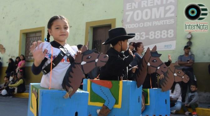 REALIZAN DESFILE CONMEMORATIVO AL 109 ANIVERSARIO DE LA REVOLUCIÓN MEXICANA EN GUADALUPE N.L.