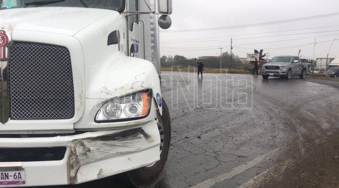 #ACCIDENTE EN CURVA DE LIBRAMIENTO NIÑOS HÉROES.