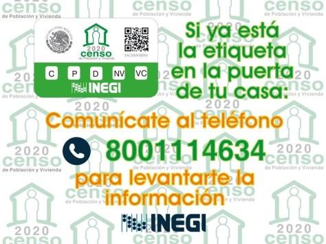 INEGI REALIZARÁ LAS ENCUESTAS A TRAVÉS DE NÚMERO TELEFÓNICO Y VÍA INTERNET.