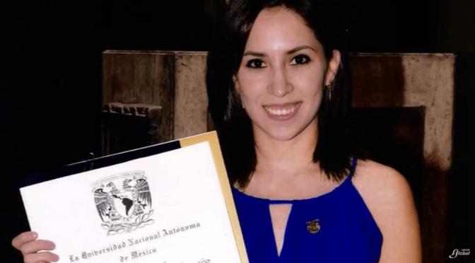 MEXICANA EGRESADA DE LA UNAM OBTIENE BECA PARA ESTUDIAR EN LA NASA.