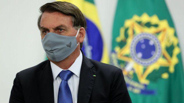 EL PRESIDENTE DE BRASIL, JAIR BOLSONARO, DA POSITIVO EN COVID