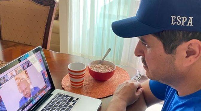 DIPUTADO FEDERAL DEL DISTRITO 9, JUAN ESPINOZA EGUIA CONTINUA CON REUNIONES VIRTUALES PARA TRABAJAR EN COORDINACIÓN AUN CON ESTA PANDEMIA.