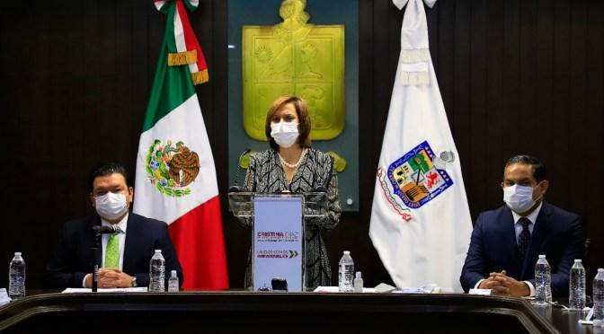 RINDE SEGUNDO INFORME CRISTINA DÍAZ; DESTACA POLÍTICA SOCIAL Y ACCIONES POR COVID-19.