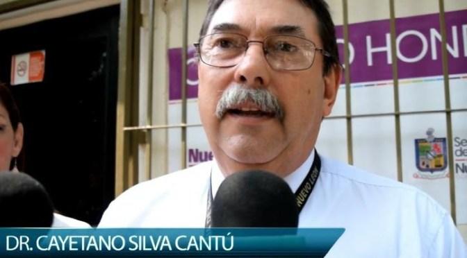 DOCTOR CAYETANO SILVA CANTÚ ENTREGA LA JURISDICCIÓN SANITARIA NO. 7 REGIÓN ZONA SUR.