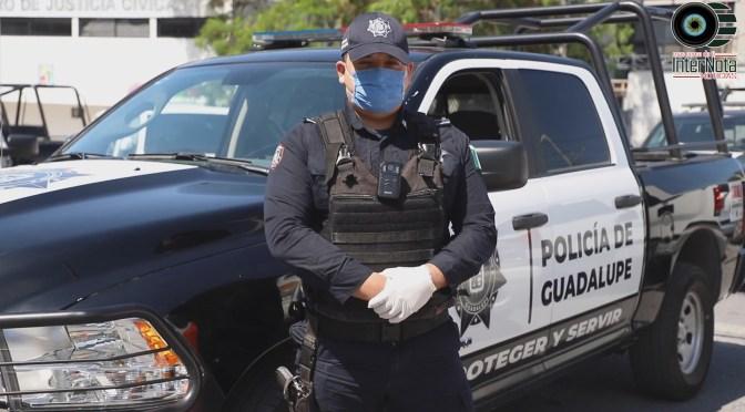 DETIENEN POLICÍA DE GUADALUPE A MÁS DE 5 MIL.