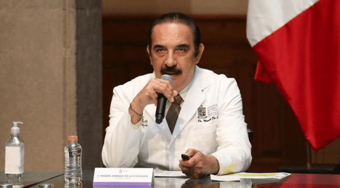 """""""SI SE INCREMENTAN LOS CASOS, VAMOS A SUSPENDER LAS ELECCIONES"""": MANUEL DE LA O."""