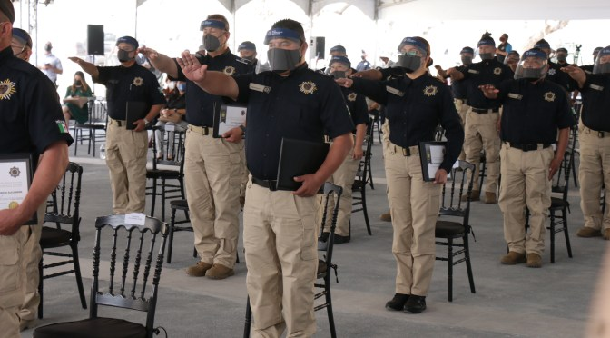 TIENE JUÁREZ NUEVA GENERACIÓN DE POLICÍA DE INVESTIGACIÓN