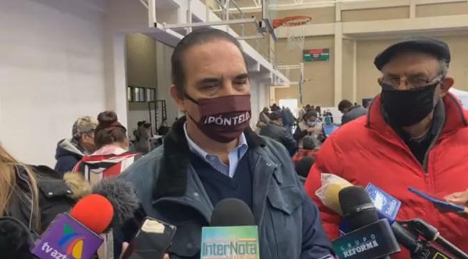 #LINARES PRIMER MUNICIPIO DEL ESTADO DE NUEVO LEÓN EN VACUNAR  ADULTOS MAYORES DEL COVID-19.