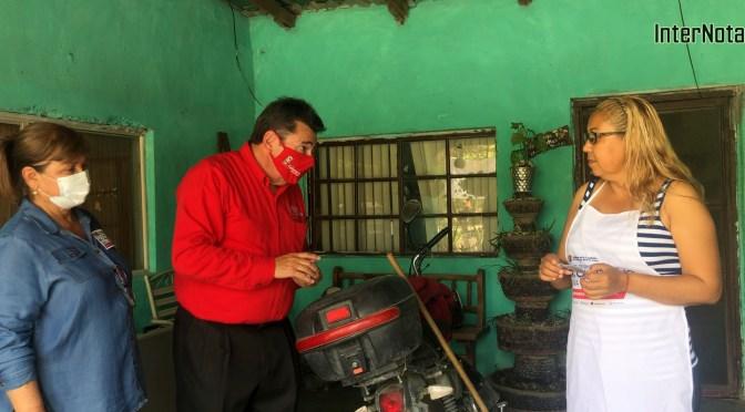 REALIZA CALLETANO SILVA RECORRIDO POR HACIENDA LOS RAMÍREZ DANDO A CONOCER SUS PROPUESTAS A LOS CIUDADANOS QUE HABITAN ESTA COMUNIDAD DE GENERAL TERÁN, N.L.