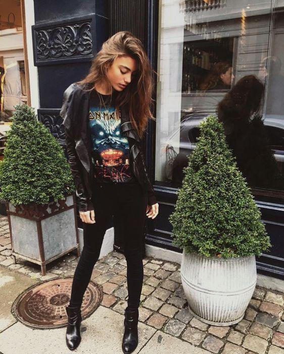 7) Go All Black