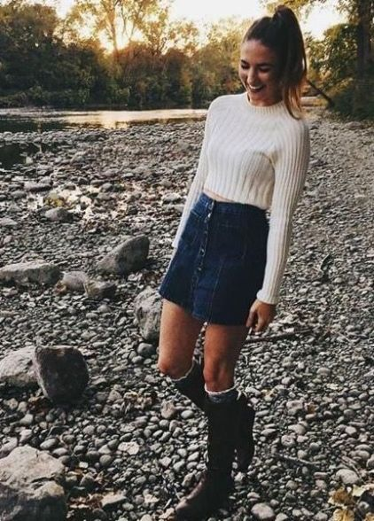 Cute Outfits With Skirts For Winter