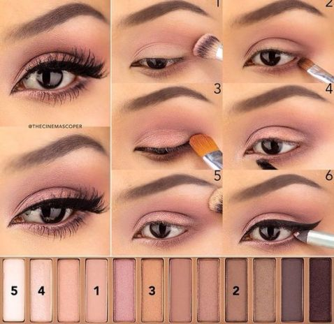 The Best Naked Palette Makeup Tutorials