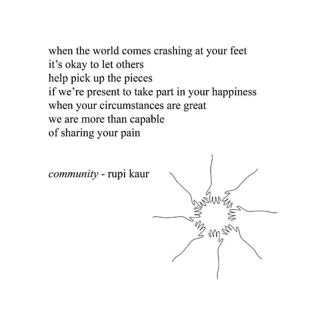 8 Inspirational Poems From Rupi Kaurs The Sun And Her