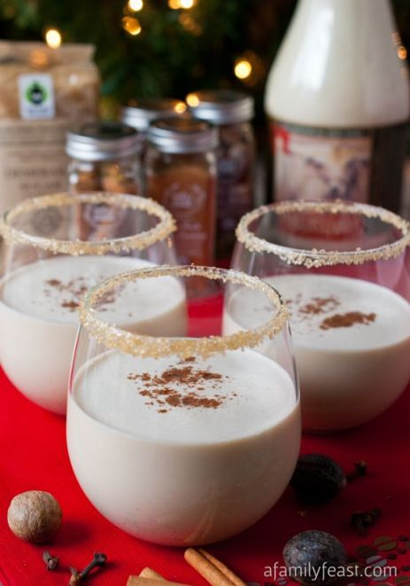 10 Spiked Eggnog Recipe Ideas