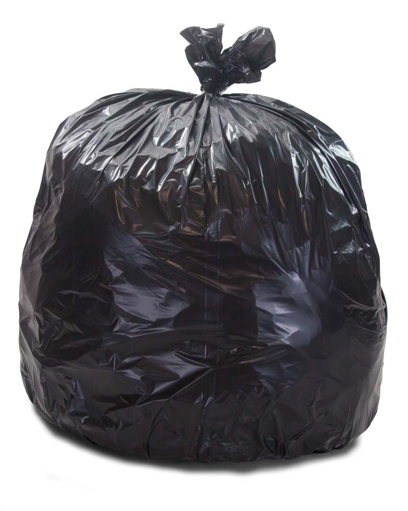Pictures Of Trash Bags : pictures, trash, Gallon, Black, Repro, Trash, 100/CS