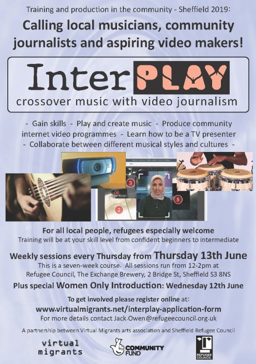 Interplay Now Music and Video Journalism Training