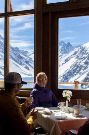 Restaurante - Ski Portillo - Chile