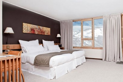 Hotel Valle Nevado - quarto