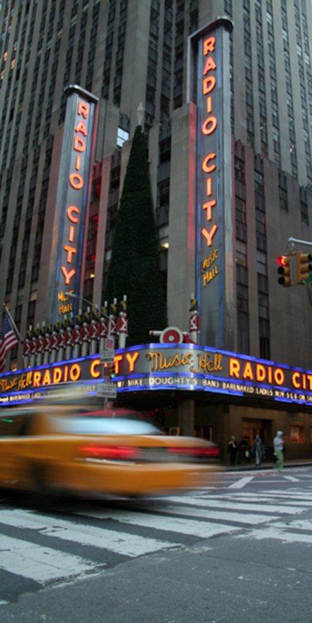 Radio City, uma das atrações de New York
