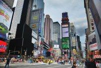 Times Square, um dos pontos mais famosos de New York.