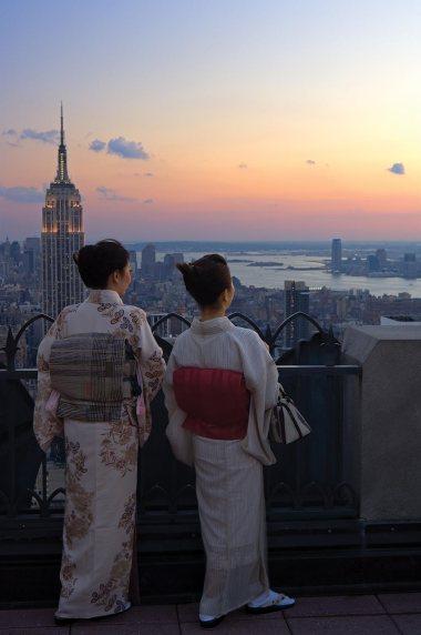 New York vista do alto.