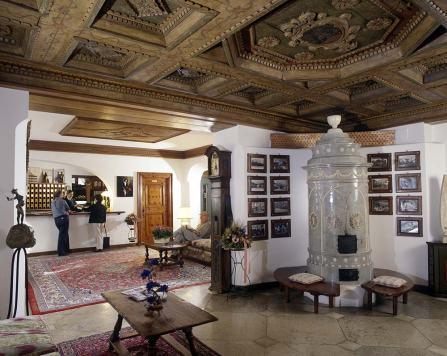 Hall de entrada e lobby.