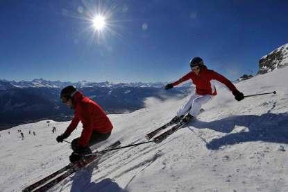 Ski em Crans Montana