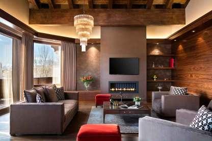 Living Room - Suite Apartamento 5
