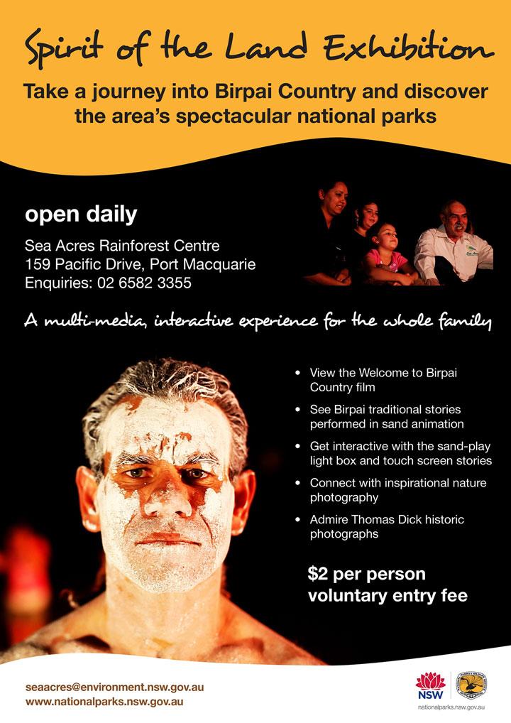 Spirit of the Land Aboriginal exhibition artwork