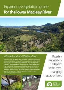 Macleay Riparian Brochure