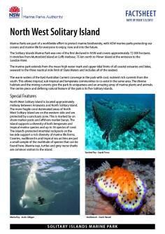 Marine Fact Sheets